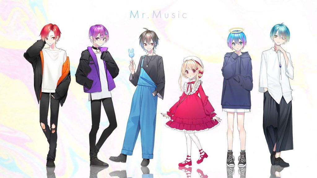 Mr.Music / かざな×いと×天江しろ×ゆさ。×いある×イルみ。